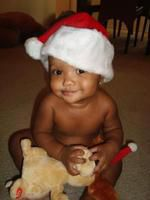 Baby Amirs First Christmas