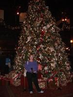 Giant Christmas Tree at Hotel Del Coronado