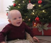 Justin's first Christmas