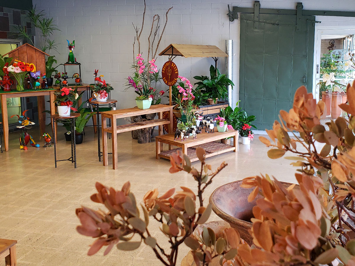 In addition to flowers and plants, Phoenix Flower Shop offers a range of gifts and decorations